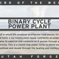 Word of the Week – Binary Cycle Power Plant