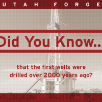 Did you know… that the first wells were drilled over 2000 years ago?