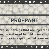 Word of the Week – Proppant