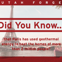 Did you know… that Paris has used geothermal energy to heat the homes of more than 2 million people?