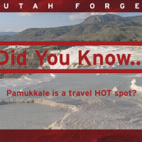 Did you know… Pamukkale is a travel HOT spot?