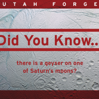 Did you know… there is a geyser on one of Saturn's moons?