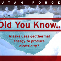 Did you know… Alaska uses geothermal energy to produce electricity?