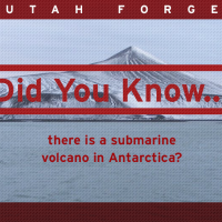 Did you know… there is a submarine volcano in Antarctica?